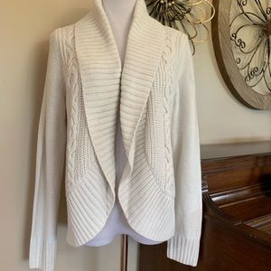 Mossimo Size XXL Cream Cardigan Sweater w/ Collar